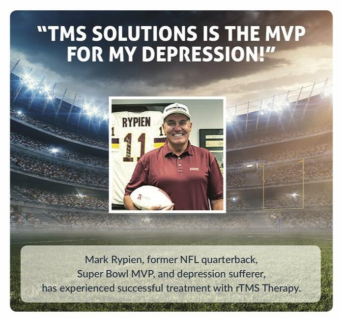 Mark Rypien TMS Therapy cropped