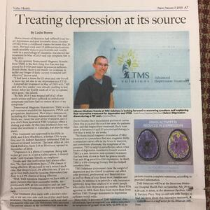 Valley Health Montrose article about treating depression